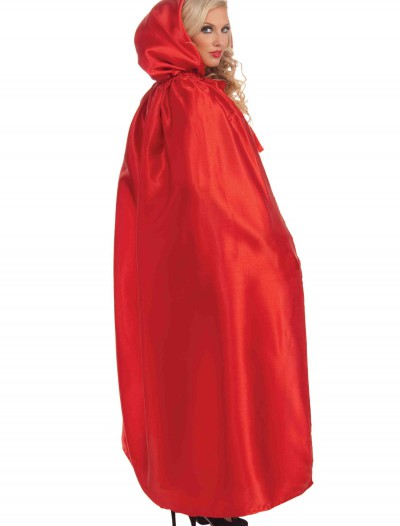 Red Satin Cape, halloween costume (Red Satin Cape)