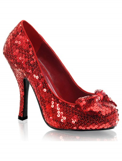 Red Sequin High Heels, halloween costume (Red Sequin High Heels)