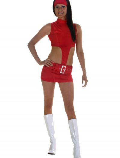 Red Soda Girl Costume, halloween costume (Red Soda Girl Costume)