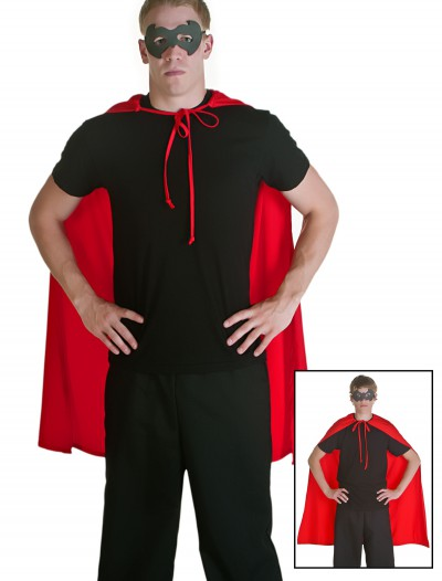 Red Superhero Cape, halloween costume (Red Superhero Cape)