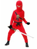 Red Toddler Ninja Costume, halloween costume (Red Toddler Ninja Costume)