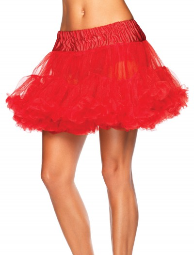 Red Tulle Petticoat, halloween costume (Red Tulle Petticoat)