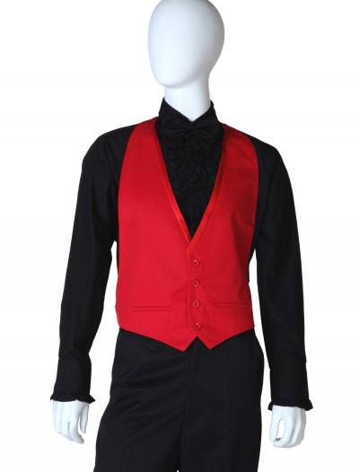 Red Tuxedo Vest, halloween costume (Red Tuxedo Vest)