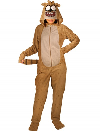 Regular Show: Adult Rigby Pajamas, halloween costume (Regular Show: Adult Rigby Pajamas)
