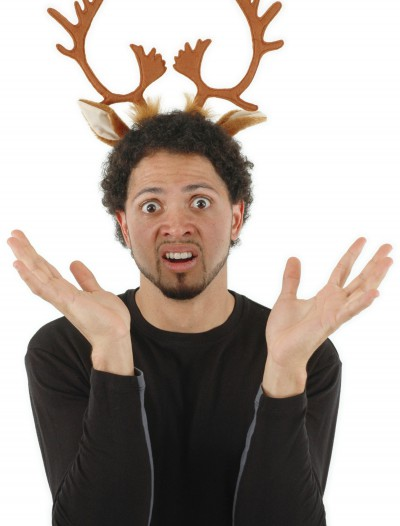 Reindeer Antlers Headband, halloween costume (Reindeer Antlers Headband)