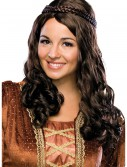 Renaissance Girl Brown Wig, halloween costume (Renaissance Girl Brown Wig)