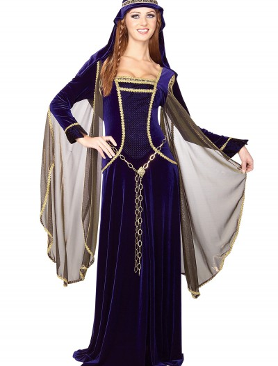Renaissance Queen Adult Costume, halloween costume (Renaissance Queen Adult Costume)