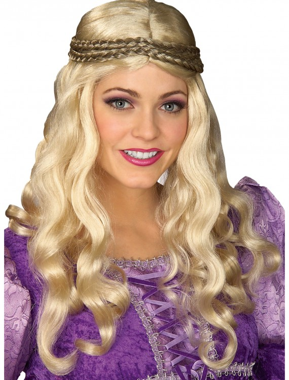Renaissance Woman Blonde Wig, halloween costume (Renaissance Woman Blonde Wig)