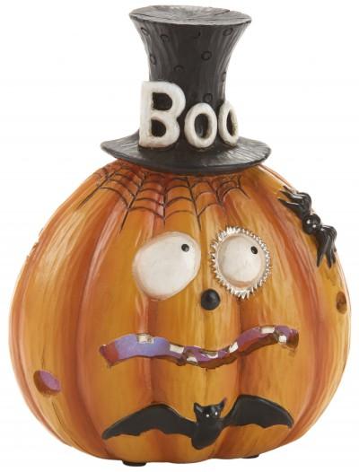 Resin LED Boo Pumpkin, halloween costume (Resin LED Boo Pumpkin)