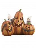 Resin LED Pumpkin Trio, halloween costume (Resin LED Pumpkin Trio)