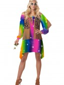 Retro Hippie Chick Costume, halloween costume (Retro Hippie Chick Costume)