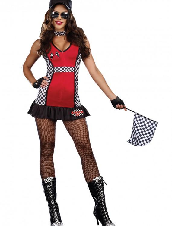 Rev My Engine Racer Costume, halloween costume (Rev My Engine Racer Costume)