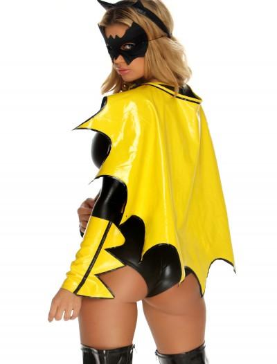 Reversible Black & Yellow Superhero Cape, halloween costume (Reversible Black & Yellow Superhero Cape)