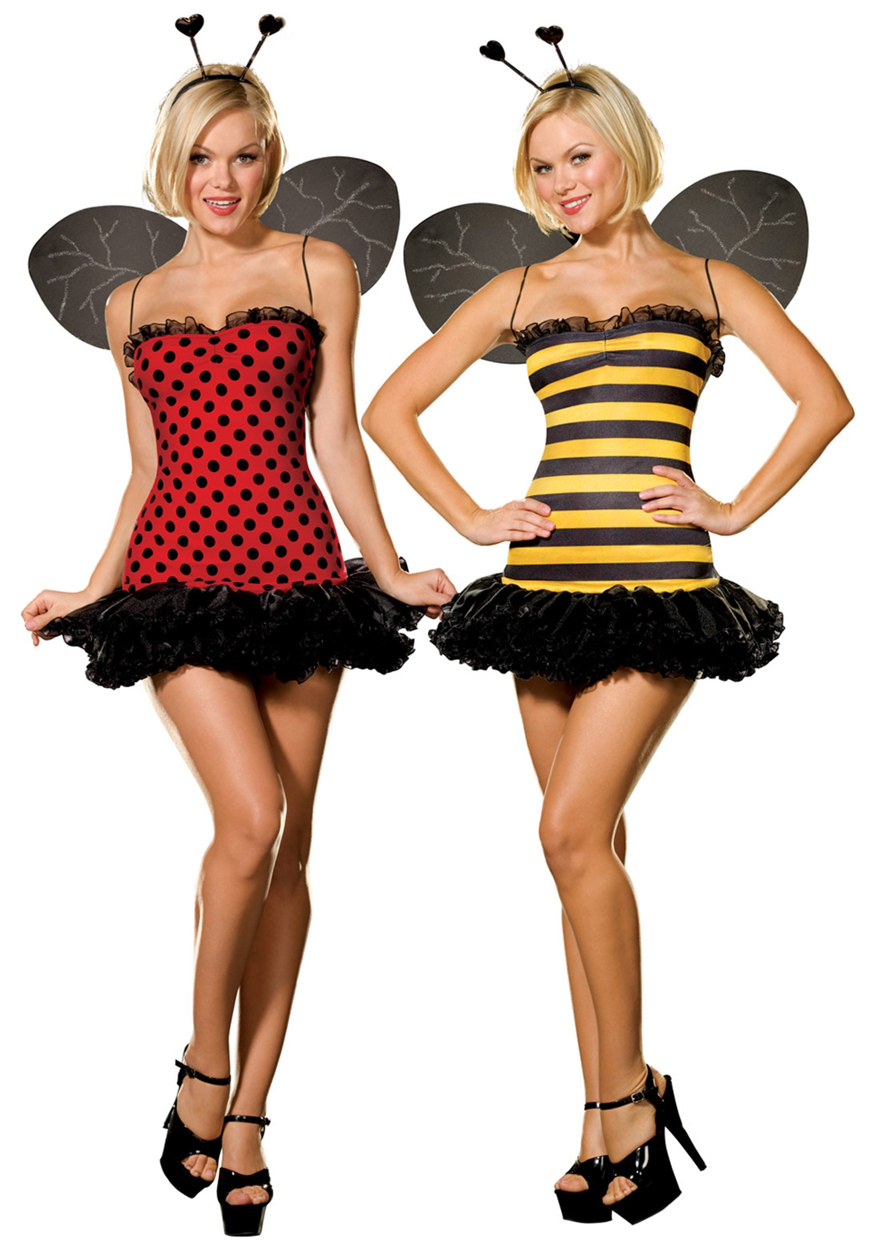 Reversible Ladybug / Bumble Bee Costume  sc 1 st  Halloween Costumes & Reversible Ladybug / Bumble Bee Costume - Halloween Costumes