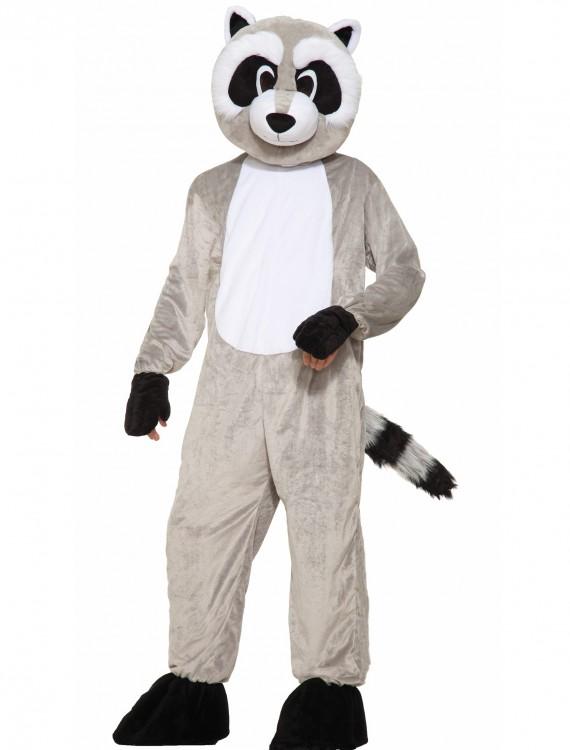Rickey Raccoon Mascot Costume, halloween costume (Rickey Raccoon Mascot Costume)