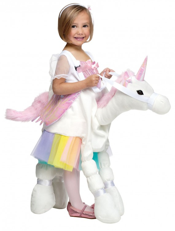 Ride A Unicorn Costume, halloween costume (Ride A Unicorn Costume)