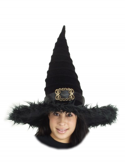 Ridged Witch Hat, halloween costume (Ridged Witch Hat)