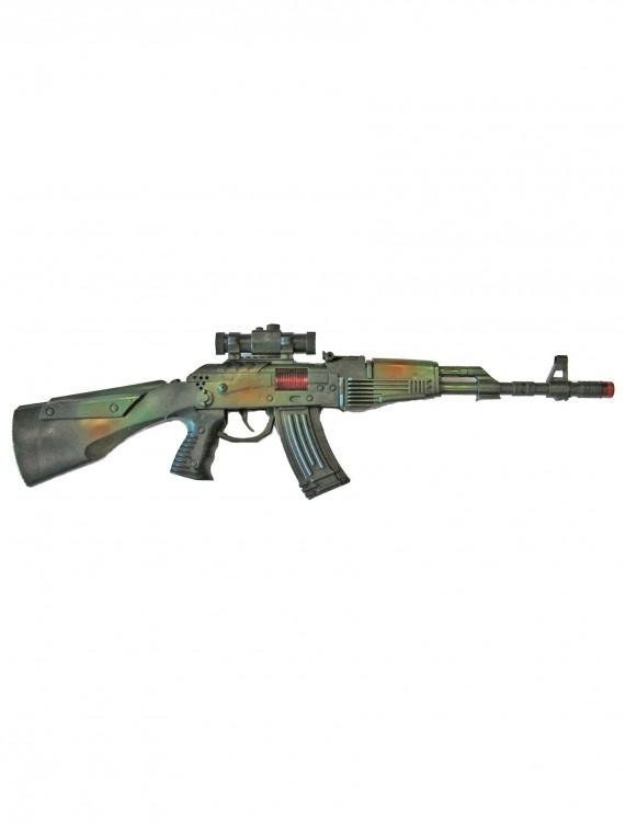 Rifle Machine Gun, halloween costume (Rifle Machine Gun)