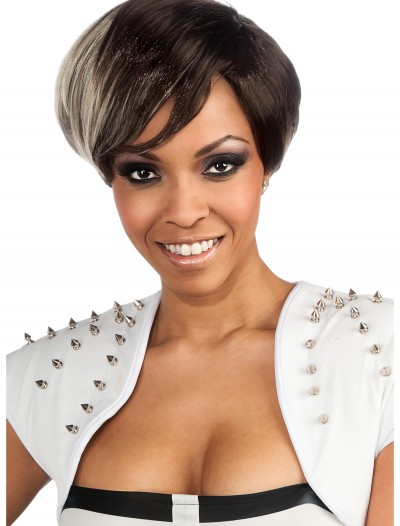 Rihanna Two Tone Wig, halloween costume (Rihanna Two Tone Wig)