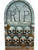RIP Tombstone with Skulls, halloween costume (RIP Tombstone with Skulls)