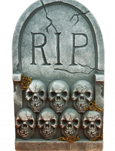 RIP Tombstone with Skulls, halloween costume (RIP Tombstone with Skulls)