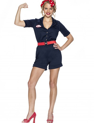Riveting Rosie Costume, halloween costume (Riveting Rosie Costume)