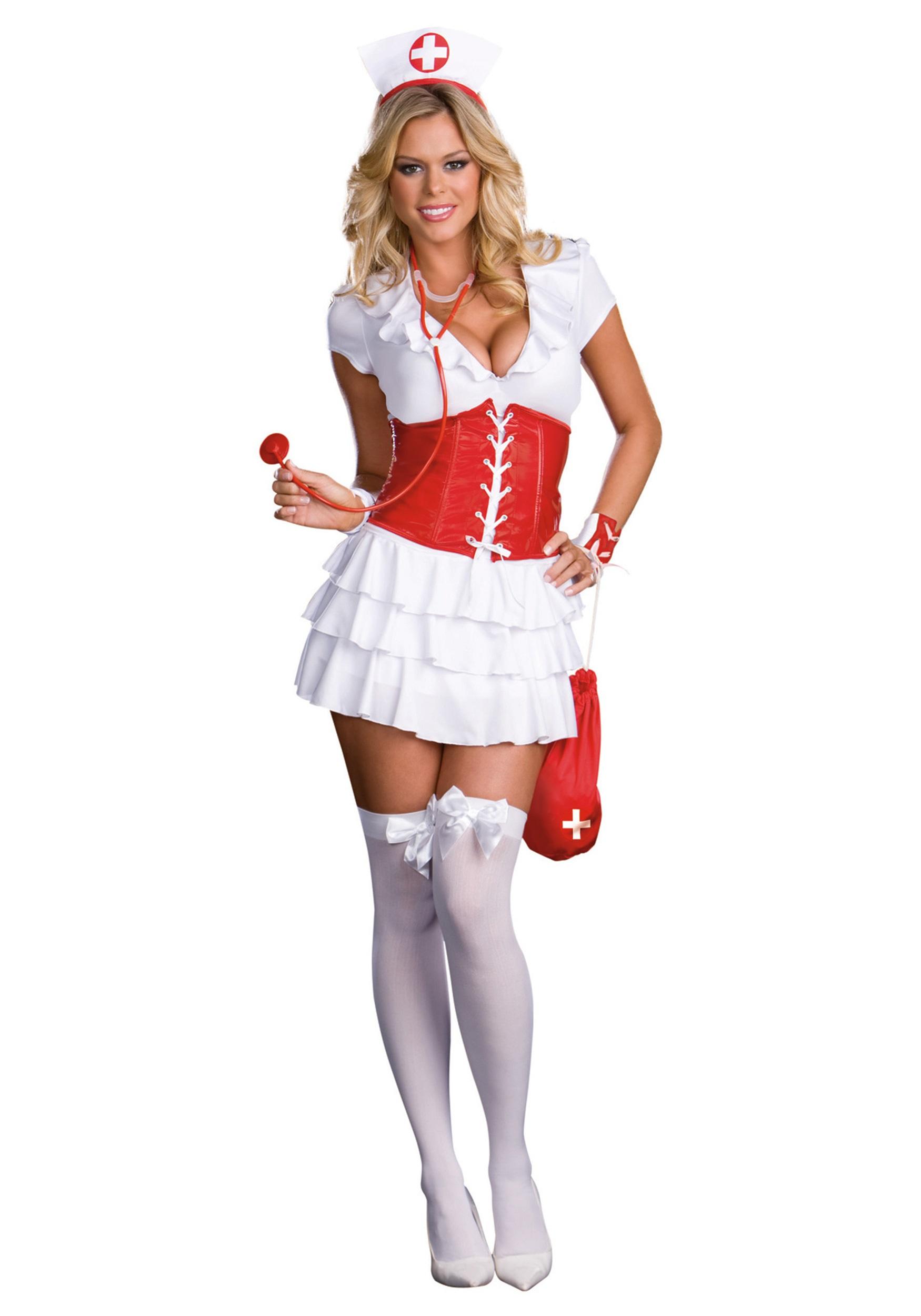 Частное фото в костюме медсестры 9 фотография