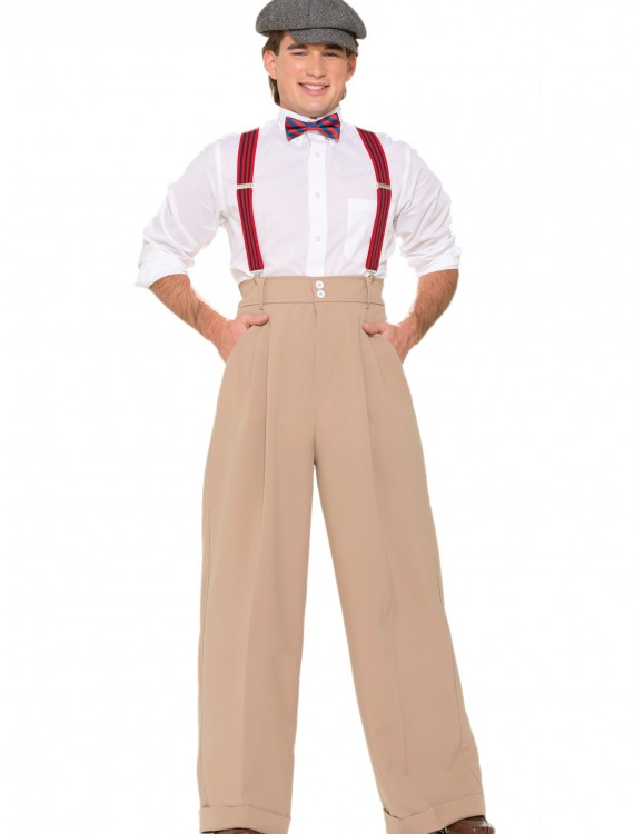 Mens Roarin 20s Deluxe Pants, halloween costume (Mens Roarin 20s Deluxe Pants)