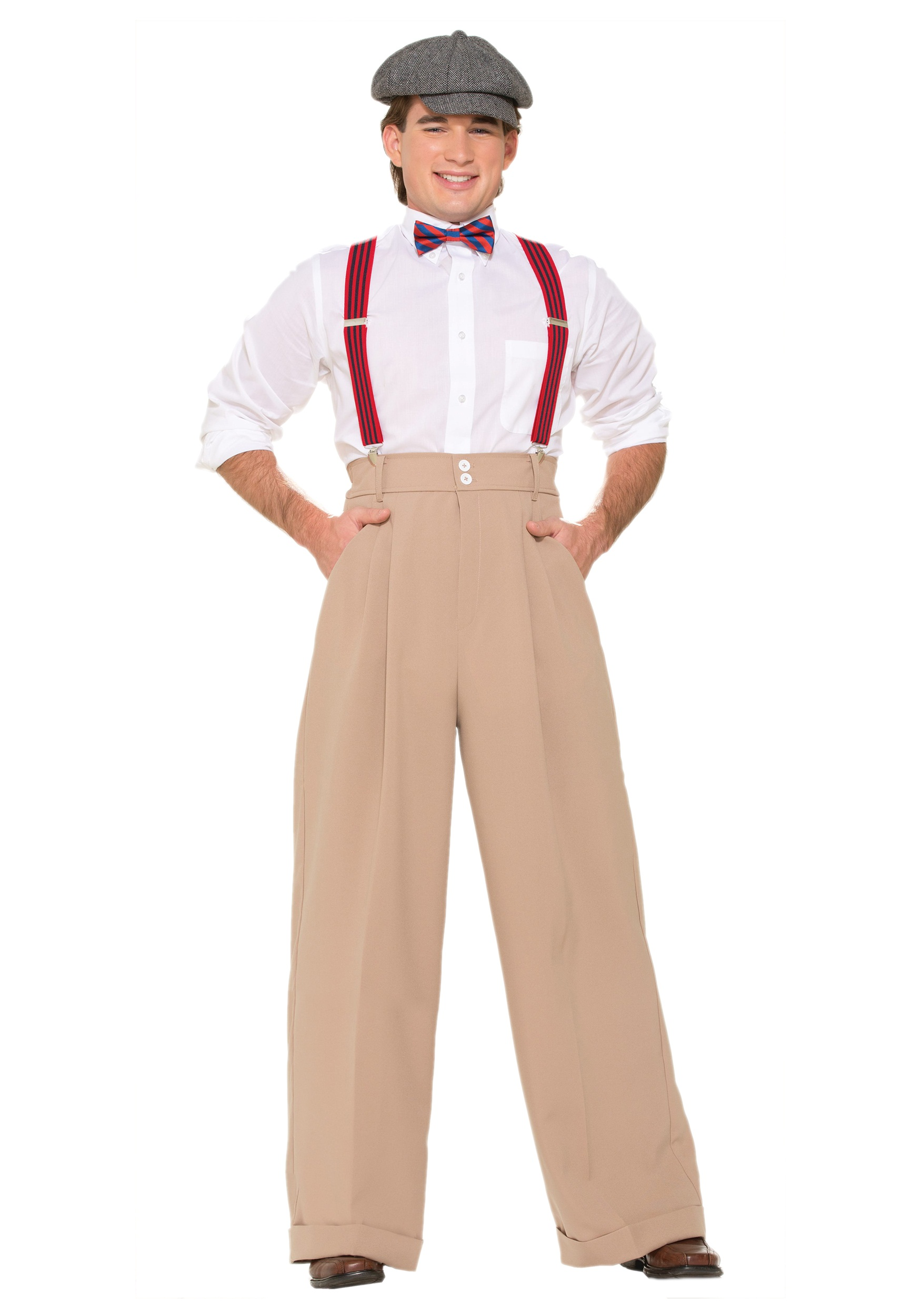 Mens Roarin 20s Deluxe Pants  sc 1 st  Halloween Costumes : great costumes for men  - Germanpascual.Com