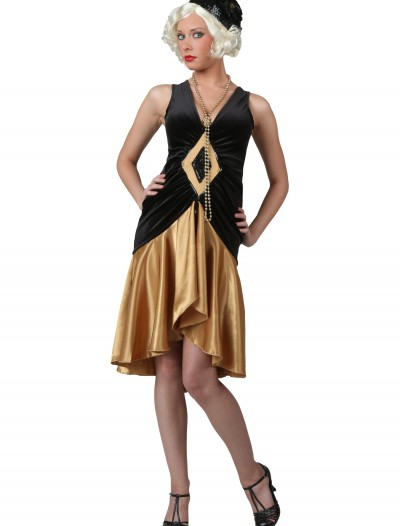 Roaring 20's Flapper Dress, halloween costume (Roaring 20's Flapper Dress)