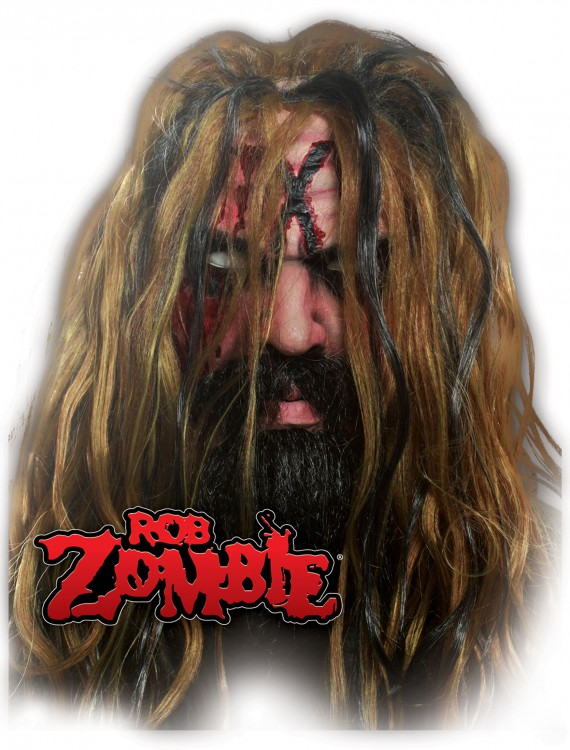 Rob Zombie Mask, halloween costume (Rob Zombie Mask)