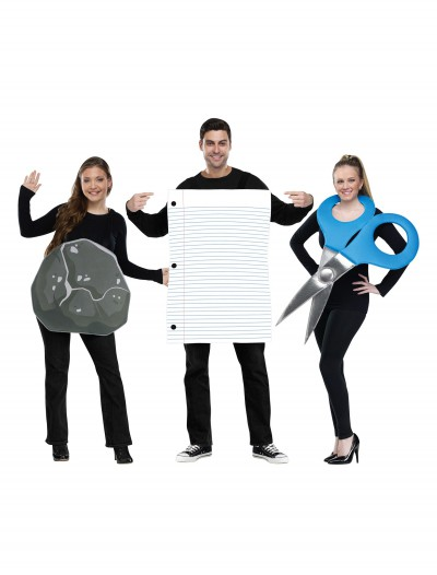 Rock, Paper, Scissors Adult Costume, halloween costume (Rock, Paper, Scissors Adult Costume)