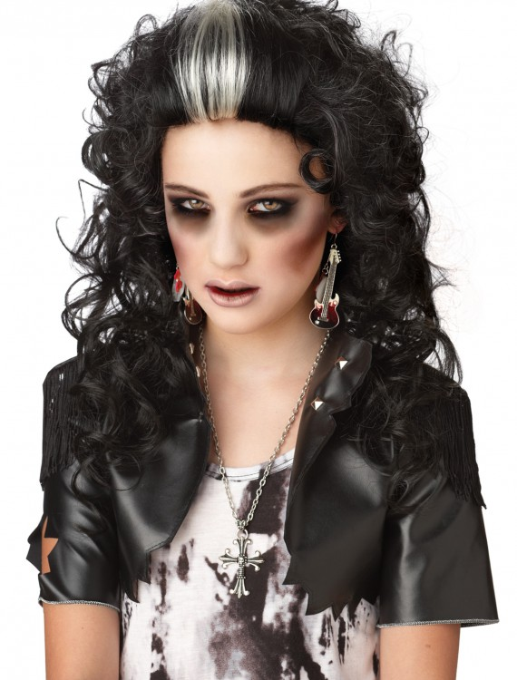 Rocked Out Zombie Wig, halloween costume (Rocked Out Zombie Wig)