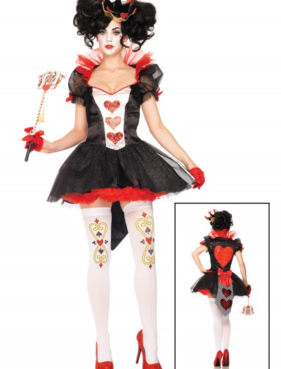 Royal Hearts Queen Costume, halloween costume (Royal Hearts Queen Costume)