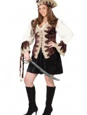 Royal Lady Plus Size Pirate Costume, halloween costume (Royal Lady Plus Size Pirate Costume)