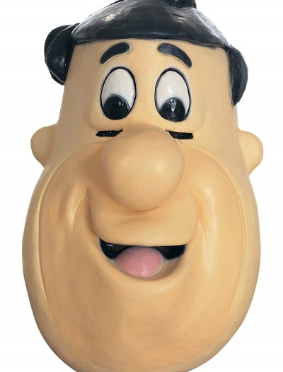 Rubber Fred Flintstone Mask, halloween costume (Rubber Fred Flintstone Mask)