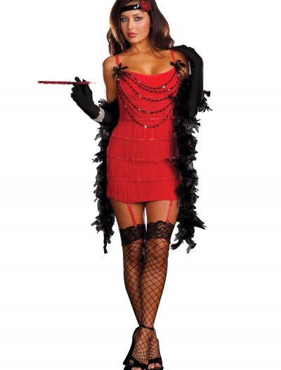 Ruby Red Hot Flapper Costume, halloween costume (Ruby Red Hot Flapper Costume)