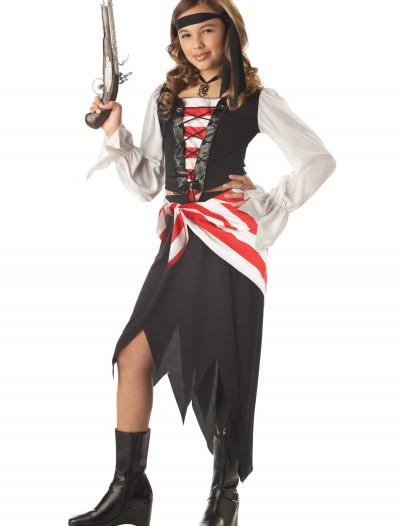 Ruby the Pirate Beauty Child Costume, halloween costume (Ruby the Pirate Beauty Child Costume)