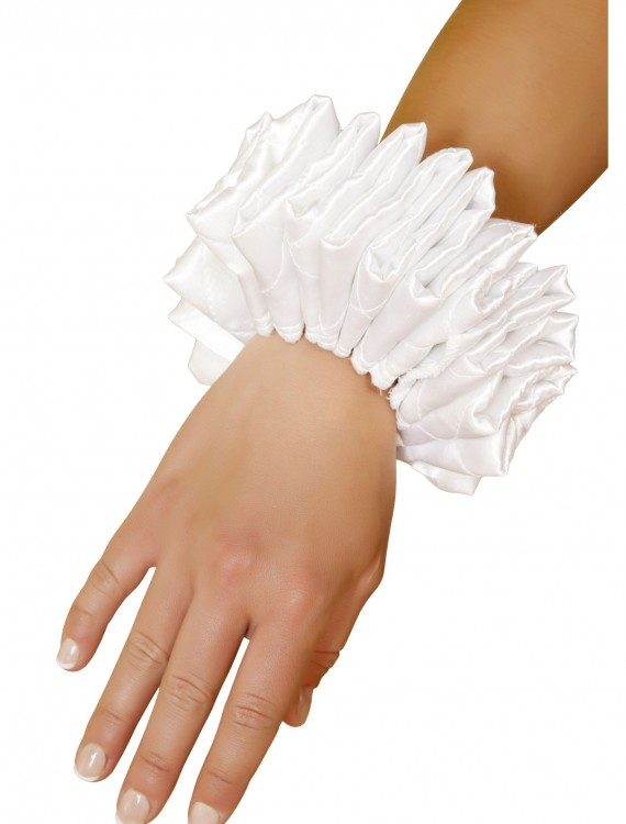 Ruffle Wrist Cuffs, halloween costume (Ruffle Wrist Cuffs)