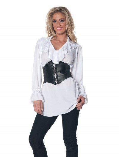 Ruffled Pirate Blouse, halloween costume (Ruffled Pirate Blouse)