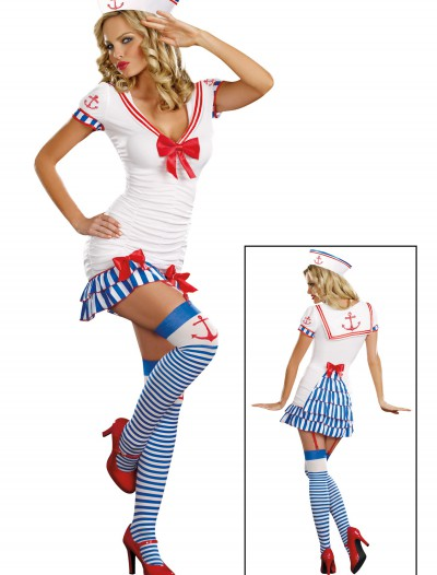 Sailor Pin Up Costume, halloween costume (Sailor Pin Up Costume)