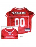San Francisco 49ers Dog Mesh Jersey, halloween costume (San Francisco 49ers Dog Mesh Jersey)