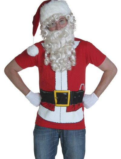 Santa Clause T-Shirt, halloween costume (Santa Clause T-Shirt)