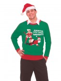 Santa Has Been Naughty Christmas Sweater, halloween costume (Santa Has Been Naughty Christmas Sweater)