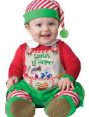 Santa's Li'l Helper Costume, halloween costume (Santa's Li'l Helper Costume)