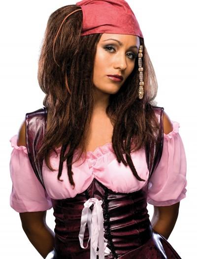 Sassy Pirate Wig, halloween costume (Sassy Pirate Wig)