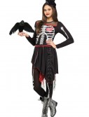 Girls Sassy Skelegirl Costume, halloween costume (Girls Sassy Skelegirl Costume)