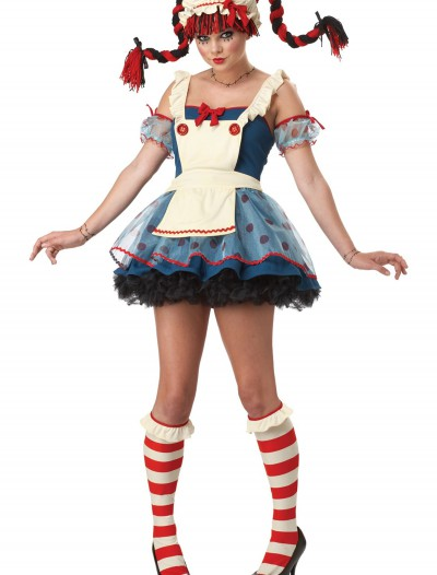 Sassy Teen Rag Doll Costume, halloween costume (Sassy Teen Rag Doll Costume)