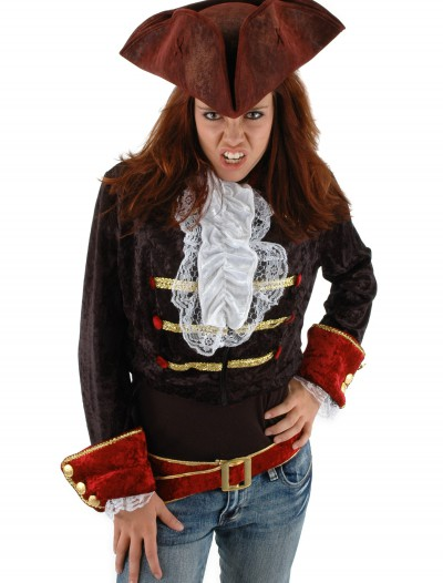 Scallywag Blood Red Hat, halloween costume (Scallywag Blood Red Hat)