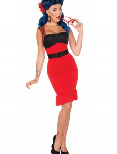 Scarlet Rose Rock-a-billy Dress, halloween costume (Scarlet Rose Rock-a-billy Dress)